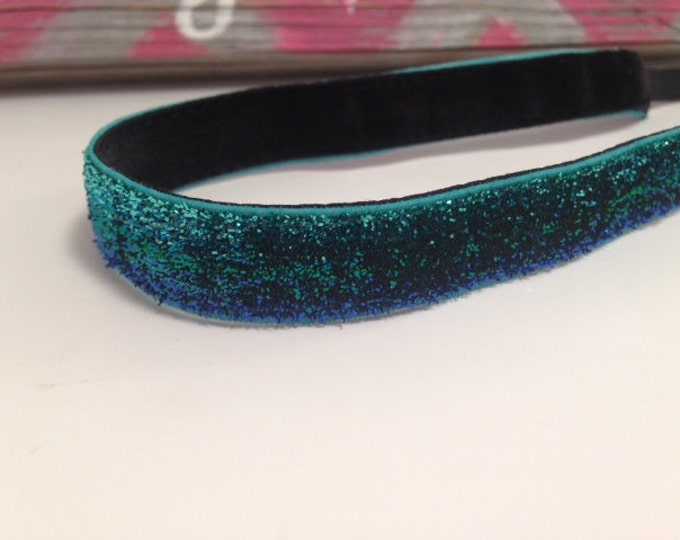 Skinny Sparkle Ombre Blue