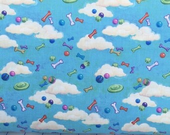 Smoochie Poochie  by L Cook for VIP Exclusive Fabrics by the yard 45236-Q