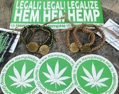 Hemp Bracelets Packs by Hemp Helps. Each Hemp Bracelet Plants a Tree