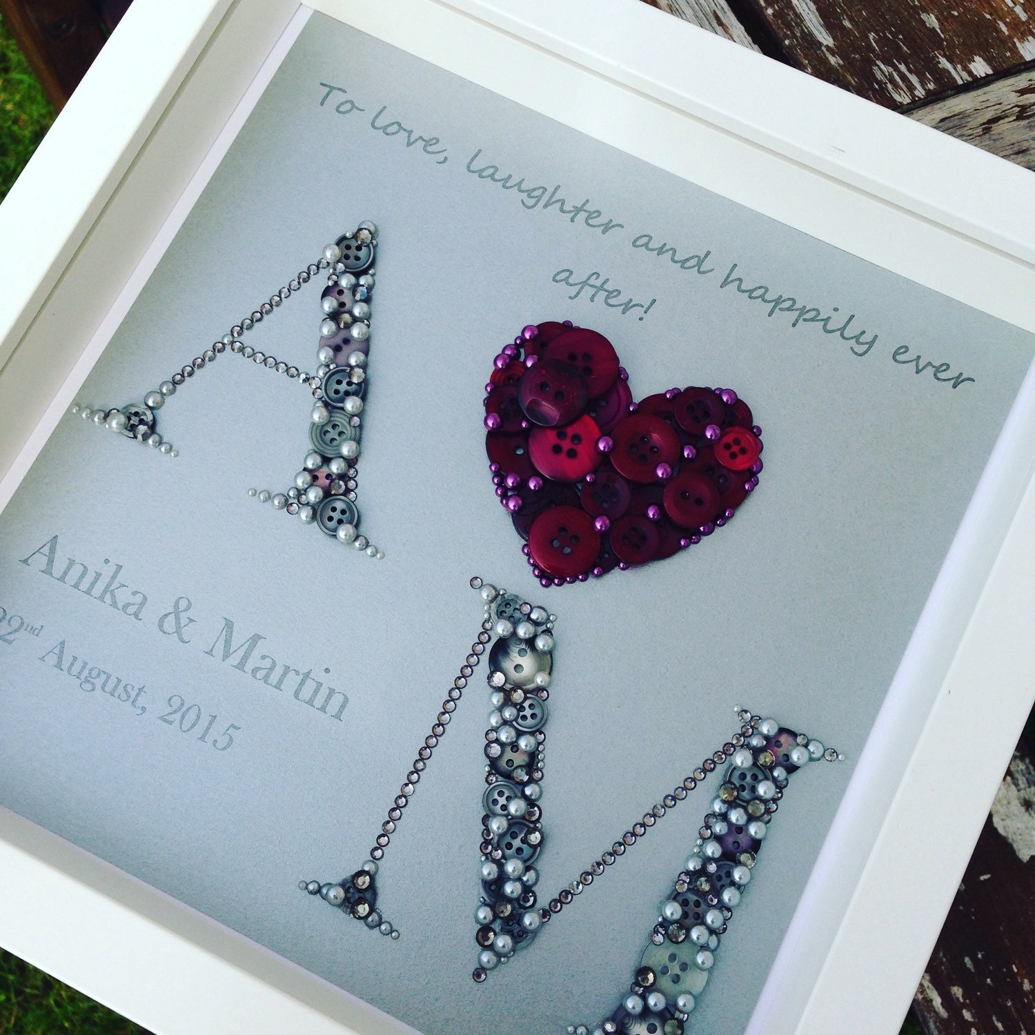 Wedding Gift Ideas Personalised Frame