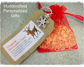 Reindeer food and charm
