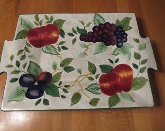 Sonoma Sakura Tray, Oneida Tray, Serving Tray, Serving Platter, Serving Dish, Fruit Platter, Oneida, Sonoma Platter, Holiday Tray