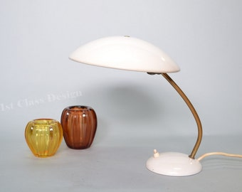 Kaiser Idell bauhaus white  lamp small version of model 6781 designed by Christian Dell - Germany