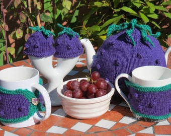 Tea Cosy, mug hugs and egg cosies