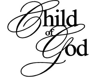 Child of God Decal