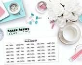 """SNARK SERIES: """"Well, I tried."""" Paper Planner Stickers!"""