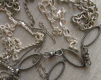 Mixed Metal Chain Lengths for Jewelry Design