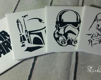 Star Wars Villains Coasters Set of 4