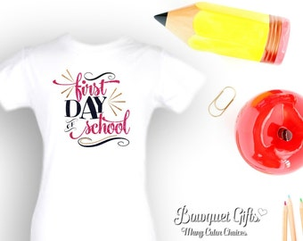 1st day of school-tshirt-1st Day-Elementary