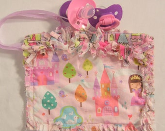 Pacifier Bag, Newborn Gift Idea, Binky Bag, Pacifier Pouch, Paci Holder, Tooth Fairy Pouch, Baby Binky, Tooth Fairy Box, Baby Binkie, Binky