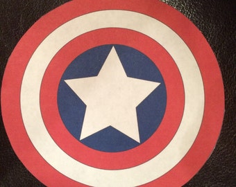 Captain America DIY Iron On