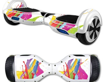 Skin Decal Wrap for Self Balancing Scooter Hoverboard unicycle Circus Splash