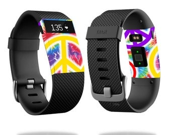 Skin Decal Wrap for Fitbit Blaze, Charge, Charge HR, Surge Watch cover sticker Peaceful Explosion