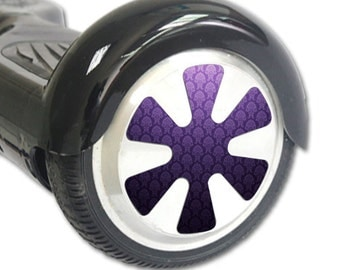 Skin Decal Wrap for Hoverboard Balance Board Scooter Wheels Antique Purple