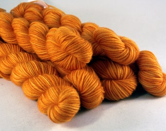 Pumpkin  - QBasic Tailypo! Hand-Dyed Semi-Solid