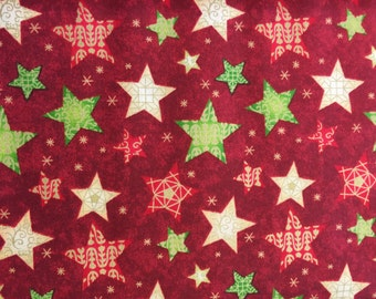 Christmas Stars Fabric