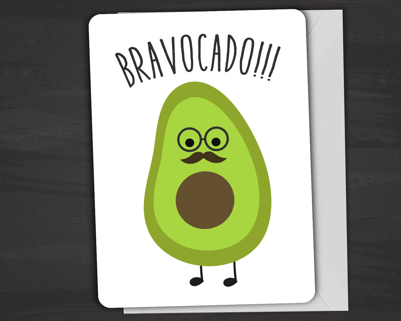 Great Job Funny Meme : Bravocado congratulations card avacado pun by funusualsuspects