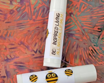 Natural Lip Balm with Beeswax
