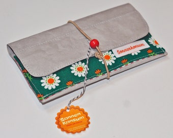 Tobacco pouch cellphone cases vintage SnapPap upcycling