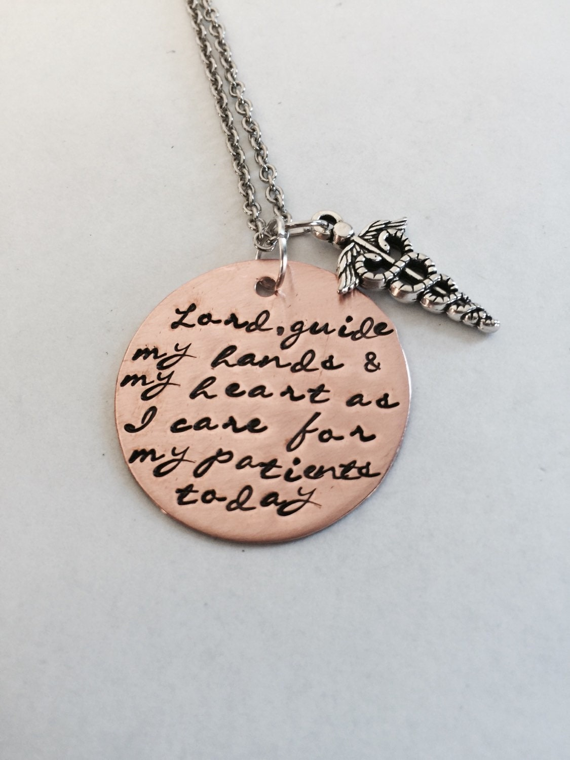 necklace s prayer personalized by