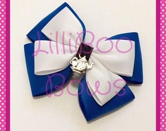Handmade Alice in Wonderland Inspired Hair Bow