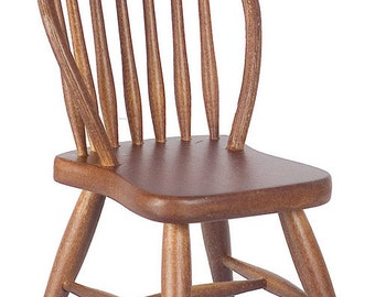 DOLLHOUSE MINIATURES WINDSOR Side Chair  #CL07813-CL07814-CL07815
