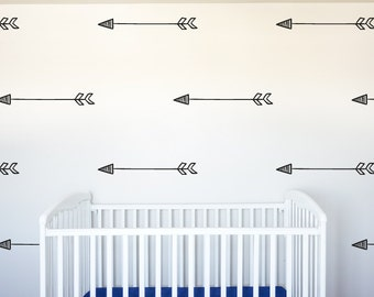 Arrows Pattern Pack - Set of 30 - Various Sizes! - Decor Pattern Wall Vinyl Decal Stickers - v2