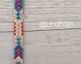 Bracelets. Friendship bracelets. Handmade friendship bracelets. Stylish, colorful accessories. Handmade.