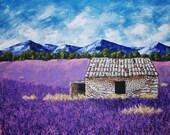 Lavender Farm (ORIGINAL DIGITAL DOWNLOAD) by Mike Kraus