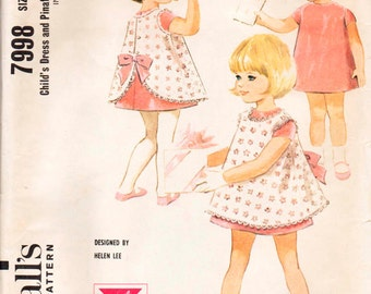 McCall's 7998 Vintage pattern 4 seperate sizes