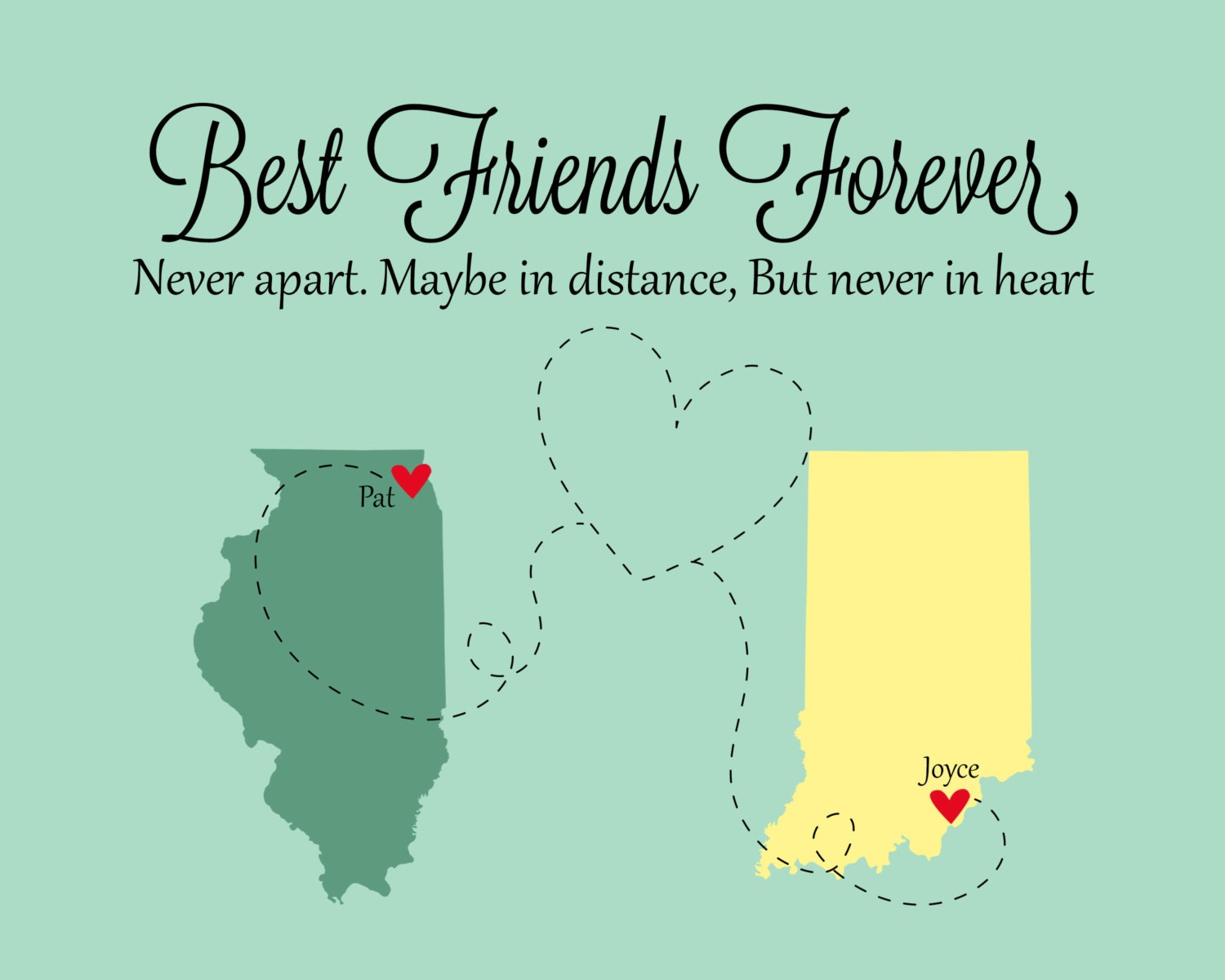 Quotes About Friendship Distance Best Friends Christmas Gifts Best Friends Best Friend Long