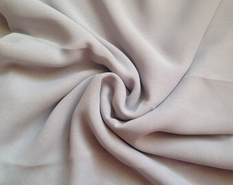 Ballet wrap skirt, made to order - pale grey