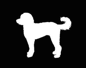 178 Doodle Dog Labradoodle Decal
