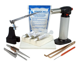 Jewelry Soldering Kit with Soldering Paste and Butane Torch - Kit-1780
