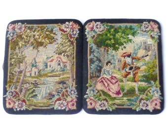 Vintage Embroidered Cigarette Case