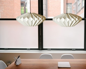 Origami paper lampshade: Lydia Pure