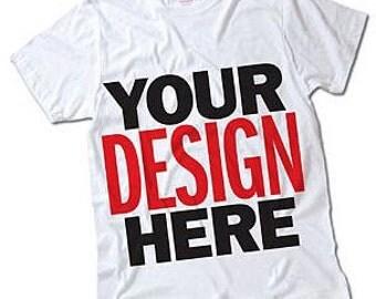 Custom t-shirt, Personalized Shirt, Sublimation shirt, Heat Transfer Vinyl Shirts