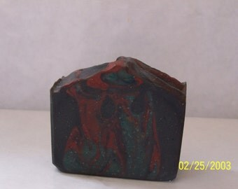 Homemade Dragons Fire (Dragon Blood Scented) A Dark and Mysterious Soap