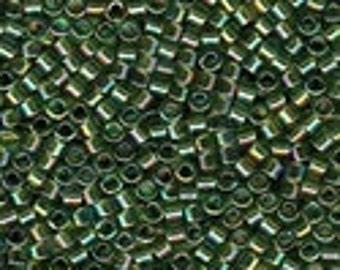 MIYUKI #11 Delica 1247 - Olive Transparent AB - 5 grams