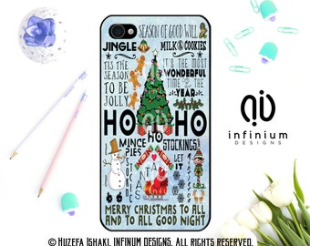 Christmas iPhone Case For iPhone 6S, iPhone SE, iPhone 5, iPod Touch 6, iPhone 6 Plus, iPhone 6, iPhone 5S & iPhone 5C