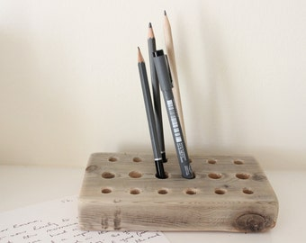 Driftwood Pencil Stand