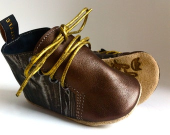 Wagner's Wish By Little King's Amsterdam baby shoes