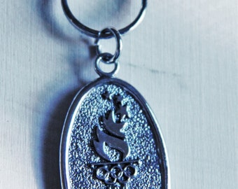 Avon 1996  Atlanta Summer Olympic Games Key Ring~Centennial Olympic Games New~No Tags.never Used