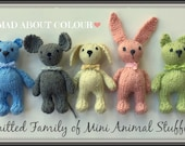 Knitting Pattern Small Animals : Original Whimsical Baby to Adult Knitting by ...
