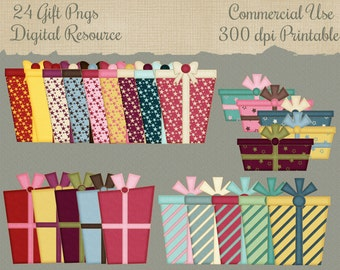 Digital Resource 24 Gift Png Commercial Use Files