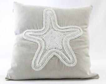 Cushion white star fish