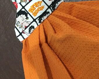 Betty Boop Hand Towel