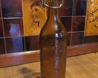 French Vintage Beer Bottle