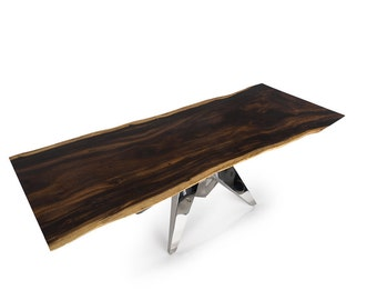 Live Edge Dining Table 8 ft (SKU 1602-19D)