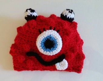 Red Bronster the monster hat